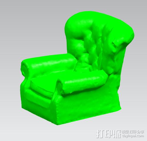古典风格沙发 3D打印模型渲染图