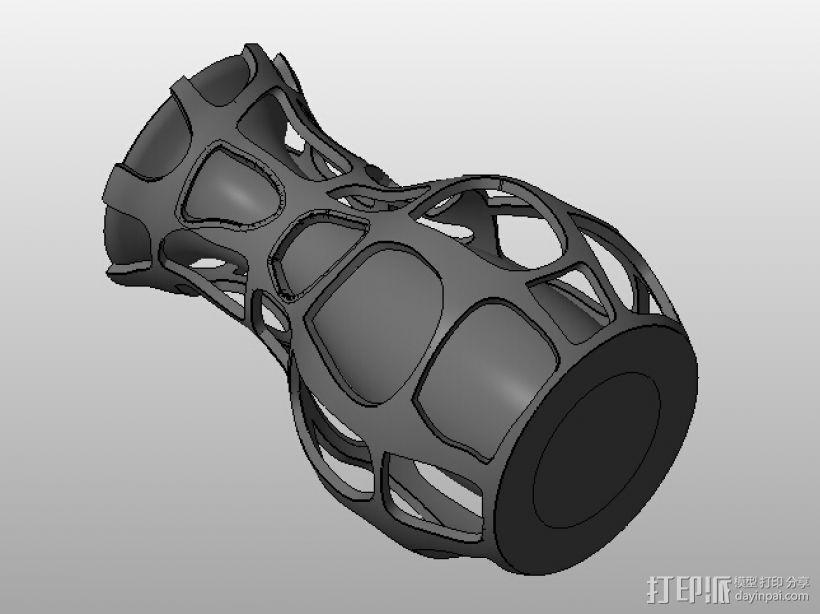 艺术设计花瓶 3D打印模型渲染图