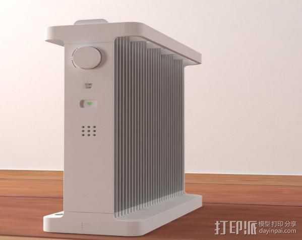 空调机 3D打印模型渲染图