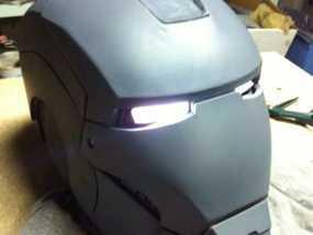 3D打印钢铁侠头盔!可穿戴!