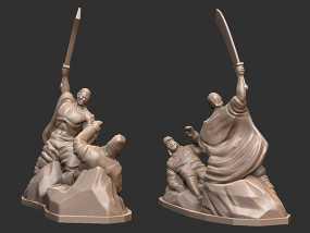 抗战胜利70周年纪念——大刀向鬼子头上砍去