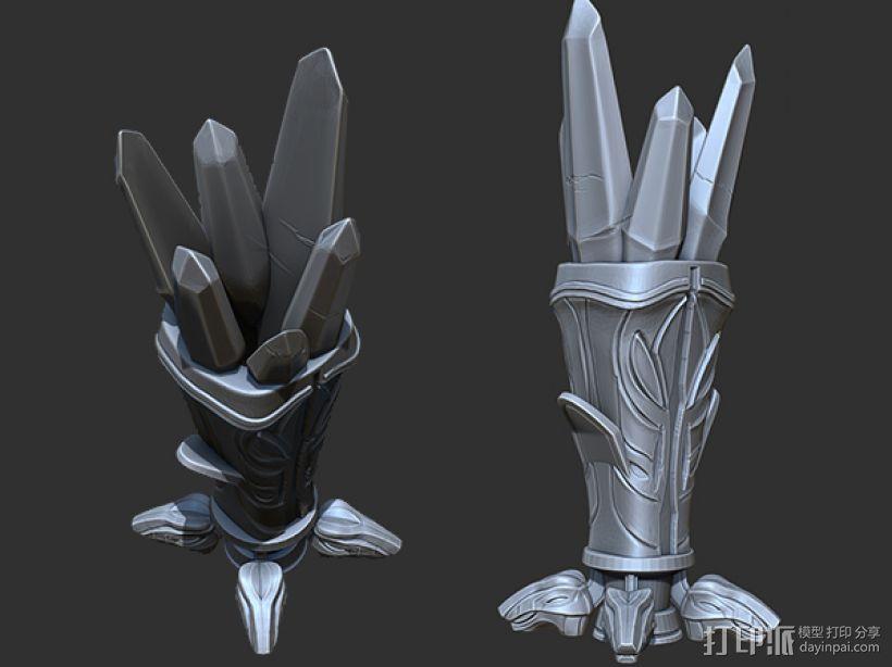 水晶魔杯_笔套 3D打印模型渲染图