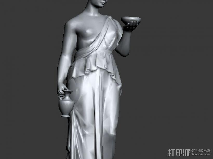 雕塑 3D打印模型渲染图