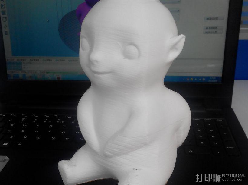 胡巴胡巴 3D打印模型渲染图
