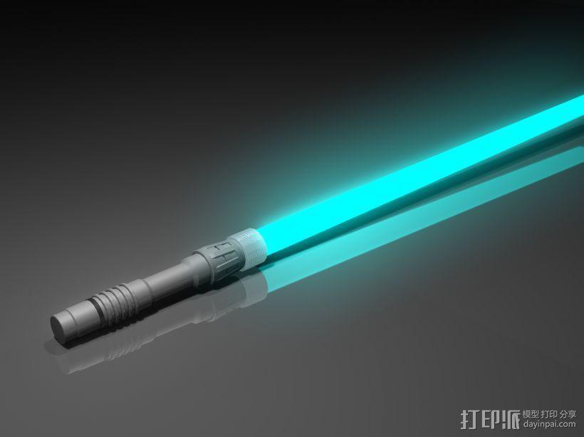 光剑 3D打印模型渲染图