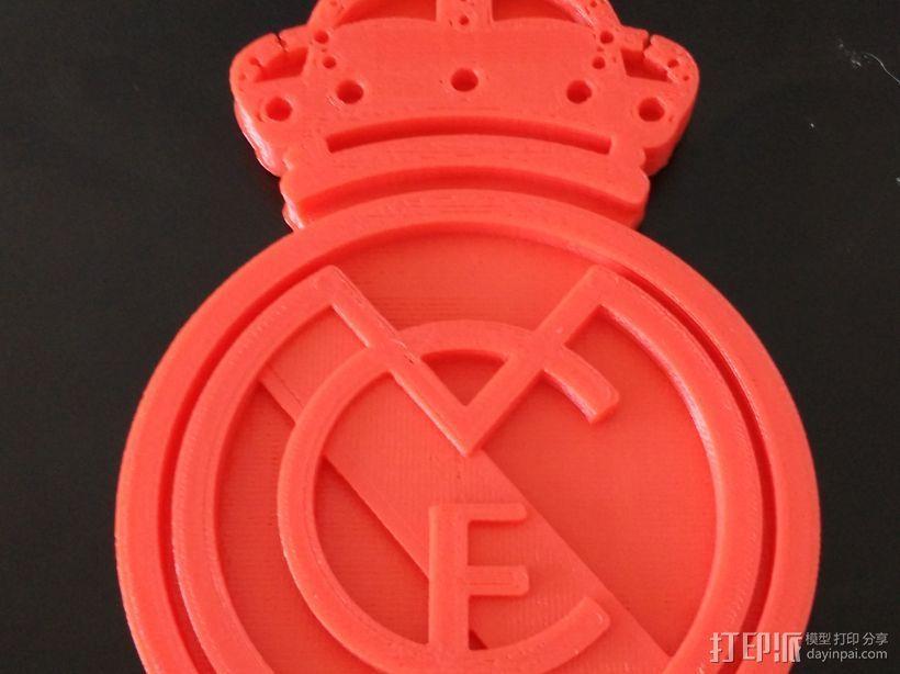 皇马 3D打印模型渲染图