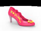 女高跟鞋3D