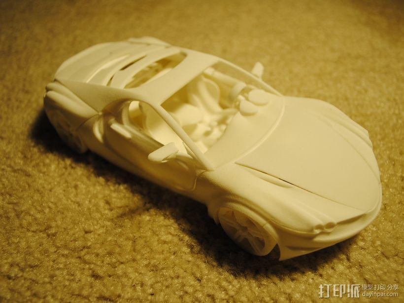 汽车组合 3D打印模型渲染图