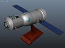 神舟飞船  卫星 摆件
