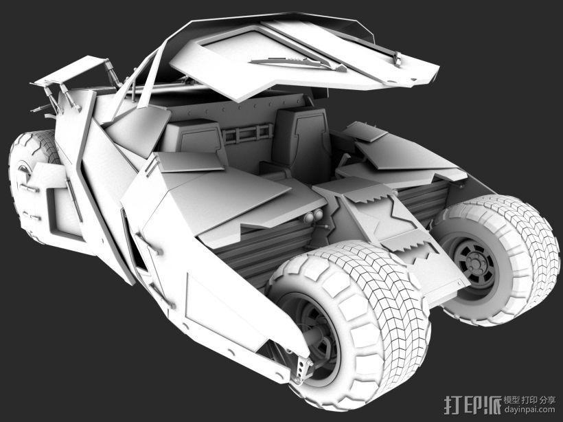 蝙蝠的一个战车 3D打印模型渲染图