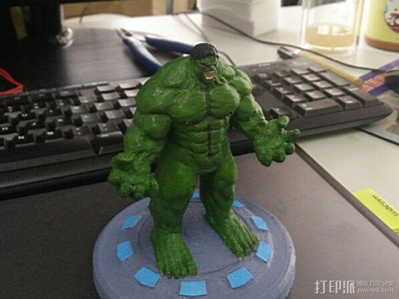 绿巨人(裤子准备用布料代替) 3D打印模型渲染图