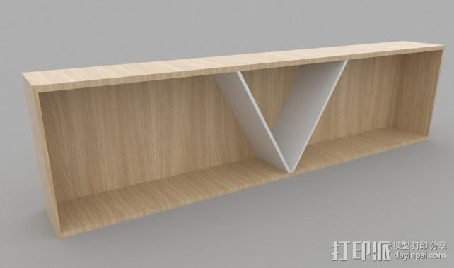 吊柜 3D打印模型渲染图