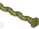 葡萄罗马柱子