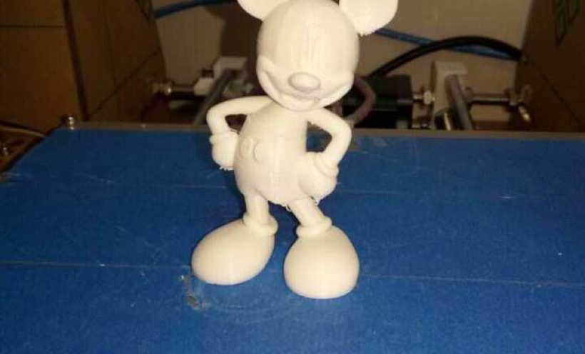 米老鼠 3D打印实物照片