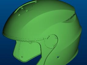 新款头盔 半盔设计