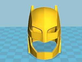 蝙蝠侠老爷的头盔