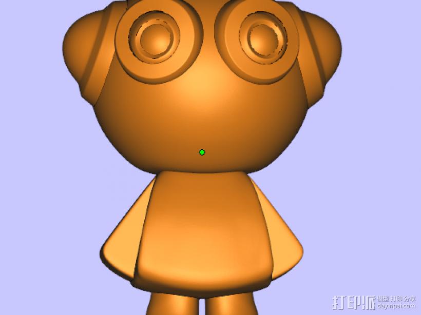 派派 3D打印模型渲染图