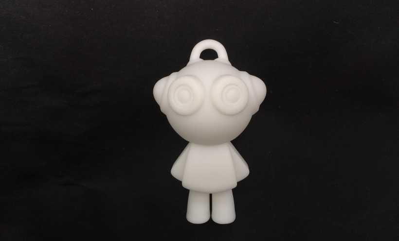 派派挂件 3D打印实物照片