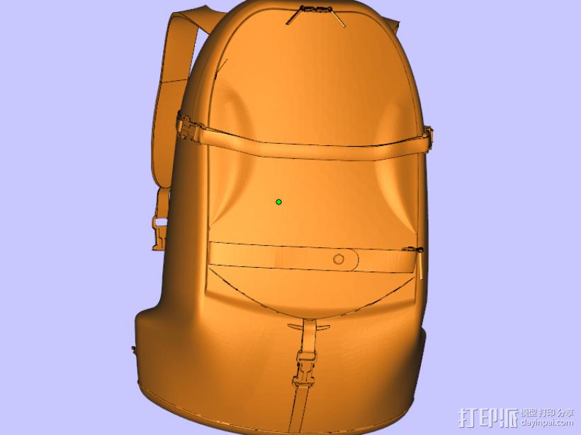 书包 3D打印模型渲染图