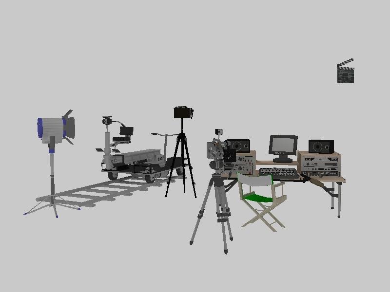 摄像 设备大全 camera 合集 灯 滑轨