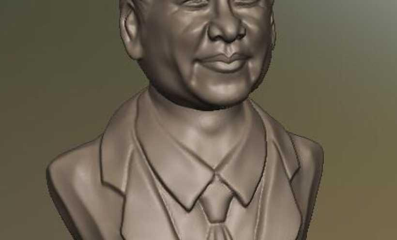 习大大 ——Xi Dada,又名Uncle Xi 3D打印实物照片