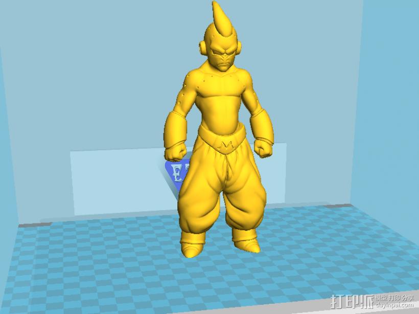魔布欧 3D打印模型渲染图