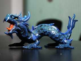 木雕龙-3D目目打印作品