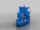 海盗船模型