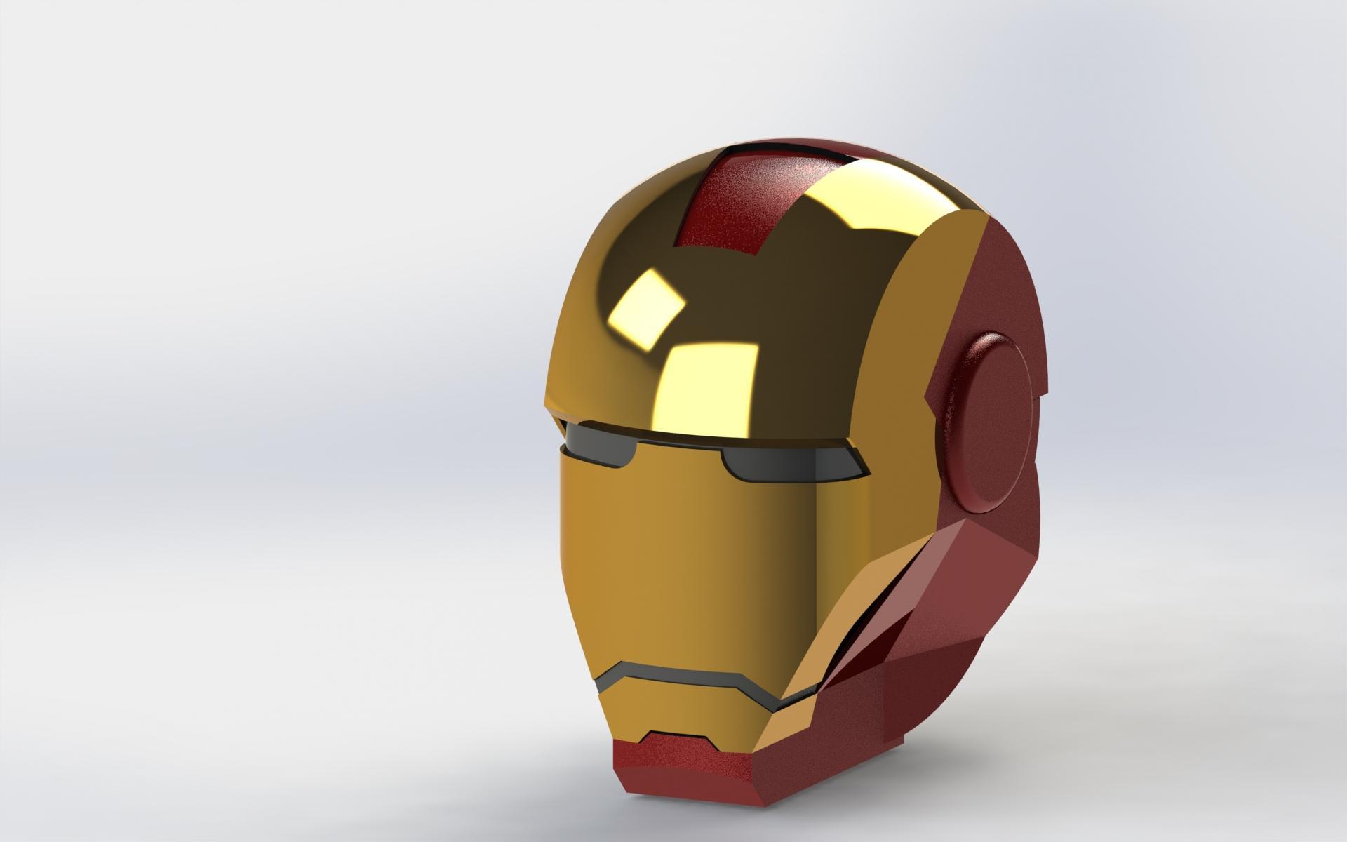 钢铁侠面具