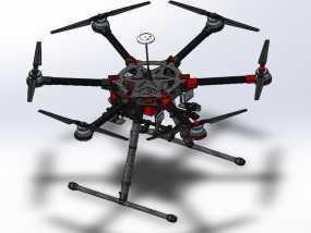 大疆s900专业级航拍飞行器