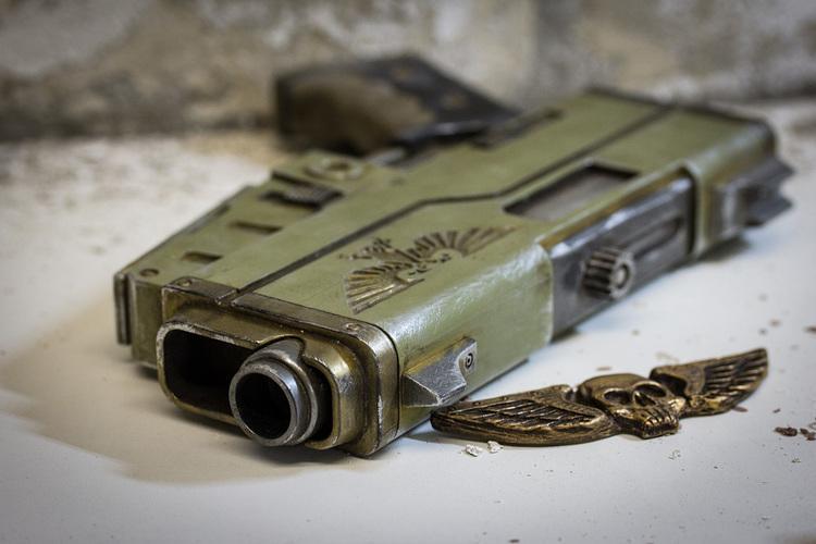 3D打印手枪组装枪文件