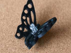 蝴蝶造型图钉