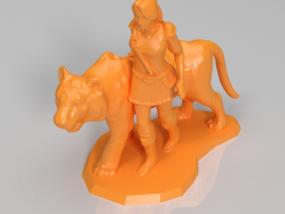 与虎为伴的女骑士