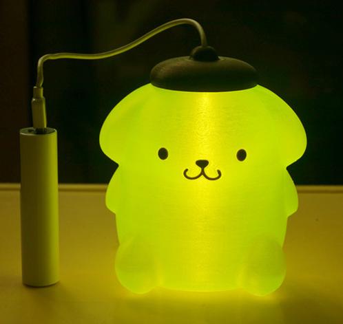 日本布丁狗灯笼