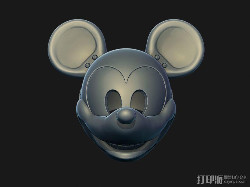 诡异米老鼠面具 亚洲通官网注册模型渲染图
