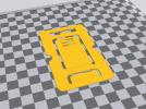 卡片手机支架简易个性