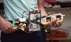 斯洛伐克创客自制3D打印线圈炮 可产生强大的冲击力