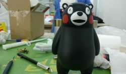 亚洲通官网注册熊本熊部长模型后期上色全过程
