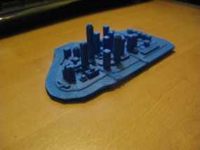 曼哈顿城市模型