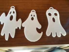 万圣节幽灵模型