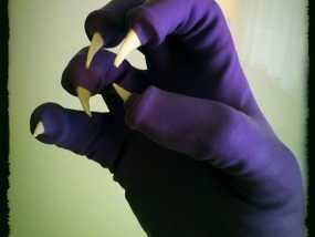 万圣节恶魔爪子