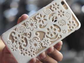苹果5花纹手机壳
