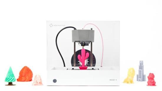 New Matter推出速度提高30%的第二代MOD-T 3D打印机 早鸟价199美元