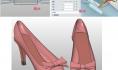 CAD建模教程:绘制高跟鞋