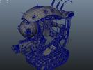 科幻机械坦克一个