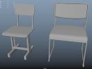 精细的凳子,椅子(可打印)