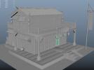 一个古代的建筑