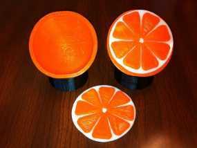 水果模型-橙子