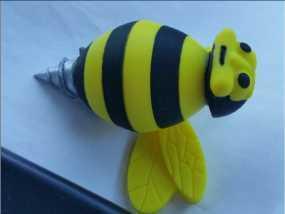 蜜蜂3d模型