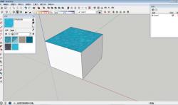 SketchUp草图大师建模技巧:如何使用油漆桶工具填充材质